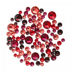 2078 Swarovski Crystal Hotfix Red Mix 5g