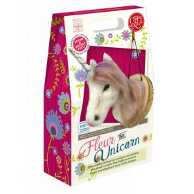 The Crafty Kit Company Fleur The Unicorn Needle Felting Kit