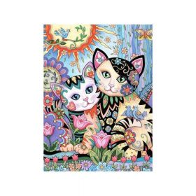 Diamond painting / mosaic / cats / 30x40cm / 1pcs