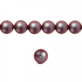 5810 Swarovski Glass Pearl 4mm Crystal Iridescent Red Pk50