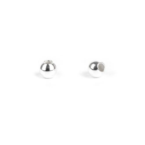 X Sterling Silver 925 Crimp Beads 2mm Pk20