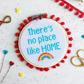 The Make Arcade Cross Stitch No Place Like Home Kit