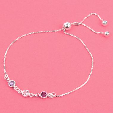 Birthstone Connector Bracelet