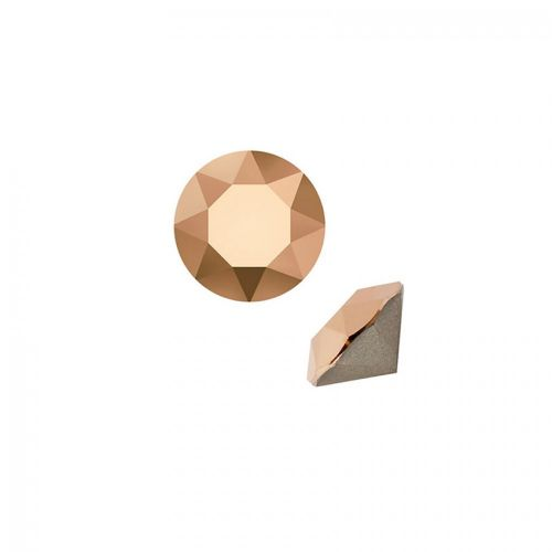 1088 Swarovski Crystal Chaton 4mm PP32 Crystal Rose Gold F Pk6