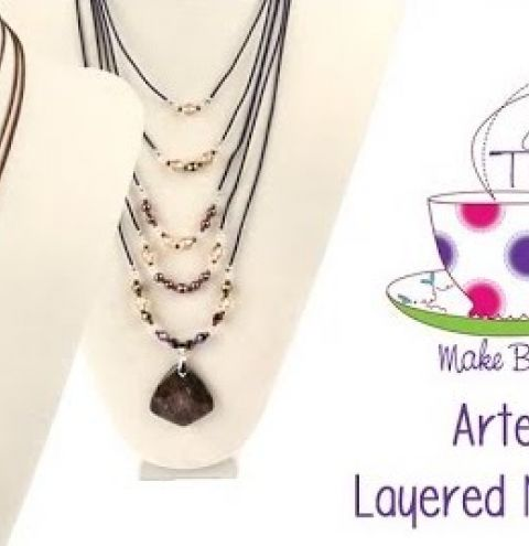 Artemis Necklace Tutorial | Take A Make Break with Sarah Millsop