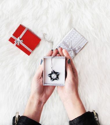 12 Designs of Christmas Day 3 - How to make a 3D Star Pendant