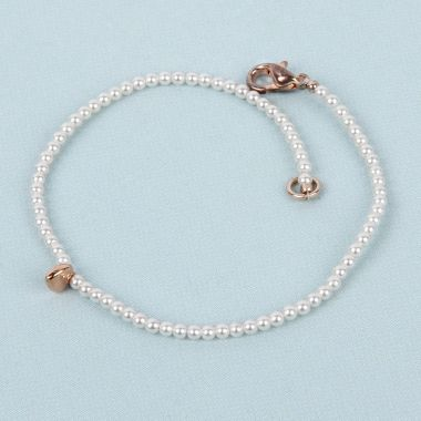 Pearl Bracelet for Bridesmaids made with Swarovski