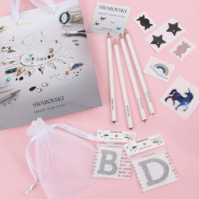 Beads Direct Personalised Embellishment Pack - Made with x7 Swarovski Transfers