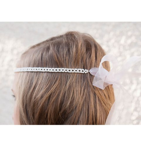 Princess Pearl Bow Hairband