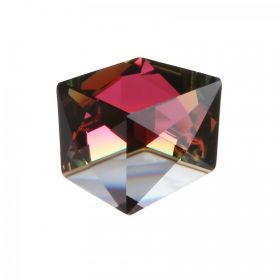 4933 Swarovski Crystal Dice Fancy Stone 27mm Crystal Red Copper Z CALVSI F Pk1