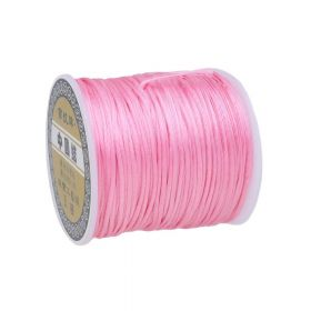Satin cord / 1.5mm / pink / 70m