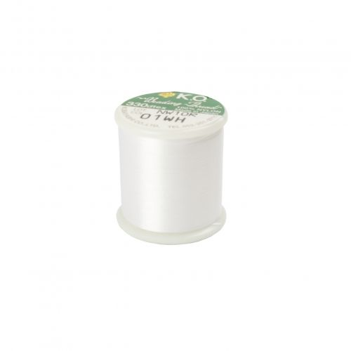 KO Beading Thread White 50m