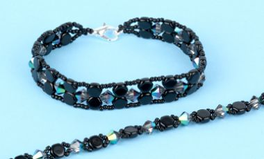 Double Hex Honeycomb Bracelets | Tutorial
