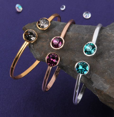Crystal Night Bracelets