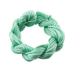 Mcord ™ / Macramé cord / nylon / 1mm / mint / 27m