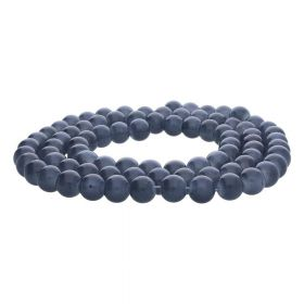 MIST ™ / round / 8mm / graphite / 105pcs