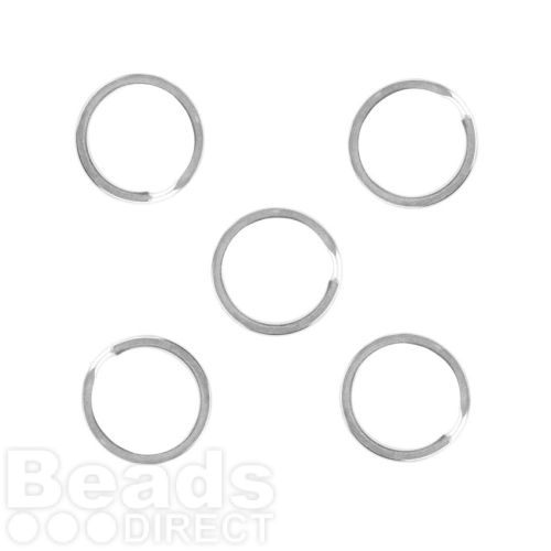 Titanium Plated Split Rings For Key Rings 15mm Pk5