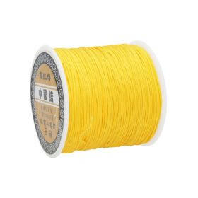 Macrame ™ / Macrame cord / nylon / 0.8mm / sunflower / 100m