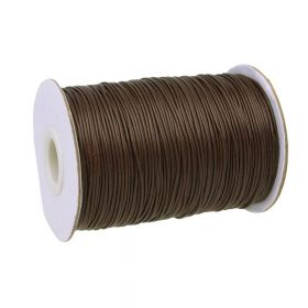 Coated twine / 1.0mm / dark brown / 160m
