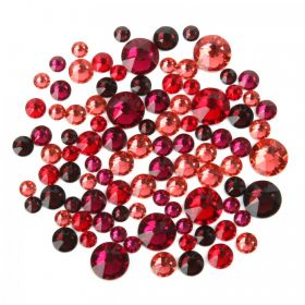 2088 Swarovski Crystal Non Hotfix Red Mix 5g