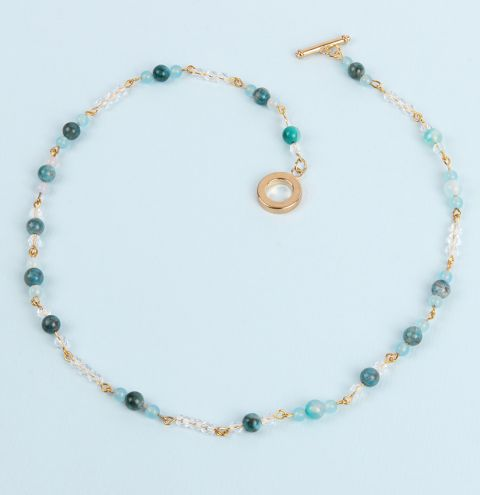 Ocean Droplet Necklace