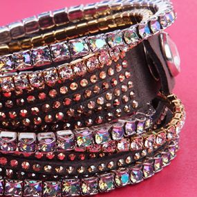 Swarovski stretch bracelets and twist bracelets