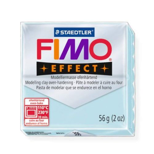 Staedtler Fimo Effect Polymer Clay Blue Ice Quartz 56g (1.97oz)