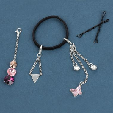 Crystal Hair Bobble Charms
