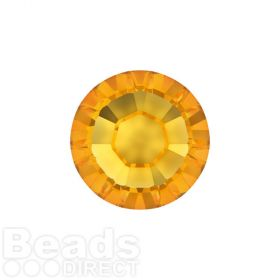 2078 Swarovski Crystal Hotfix Round 4mm SS16 Sunflower A HF Pk1440