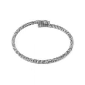 Stainless Steel Mesh Bracelet Base 18cm Pk1