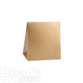 Matte Gold Gift Box 80x75x35mm Pk1