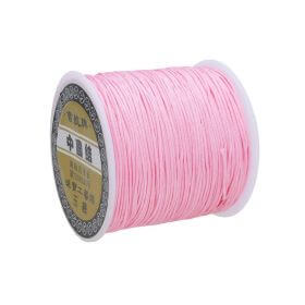 Macrame ™ / Macrame cord / nylon / 0.8mm / light pink / 100m
