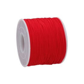 Macramé™ / Macramé cord / nylon / 0.6mm / red / 135m