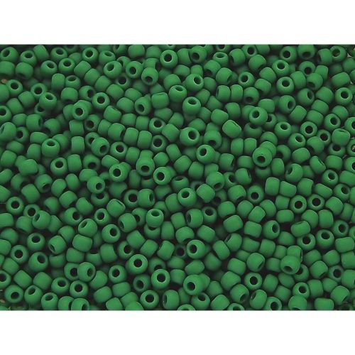 TOHO™ / Round 8/0 / Opaque Frosted / Pine Green / 10g