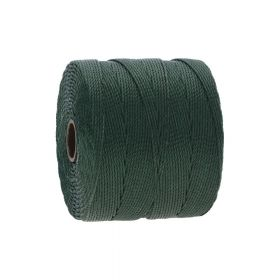 BEADSMITH ™ / thread SuperLon Fine / nylon / Tex 135 / Evergreen / 0.5mm / 108m