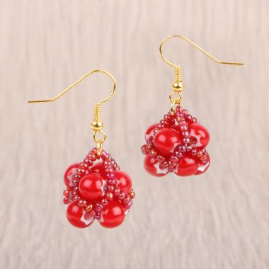 Holly Berry Earrings