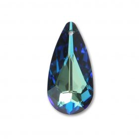 6100 Swarovski Large Drop Pendant 24x12mm Bermuda Blue Pk1