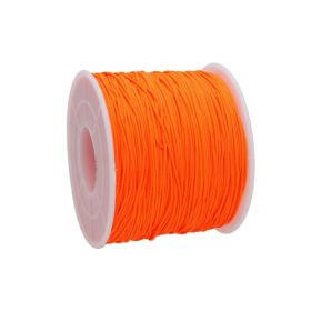 Macramé™ / Macramé cord  / nylon / 0.6mm / neon orange / 135m
