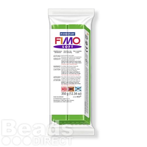 Staedtler Fimo Soft Polymer Clay Tropical Green 350g (12.34oz)