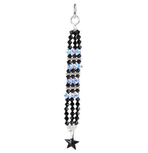 Sparkle Bag Charm made with Swarovski