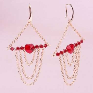 Rouge Romance Earrings