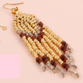 Autumn Tassel Earring Kit