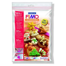 Staedtler Fimo Clay Mould 'Merry Christmas'