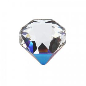 4928 Swarovski Crystal Tilt Fancy Chaton 12mm Crys Bermuda Metal Blue Z F Pk1