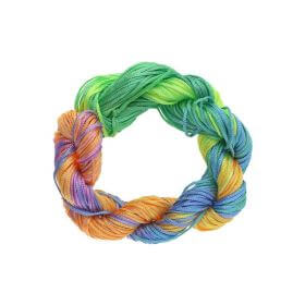 Mcord ™ / Macramé cord / nylon / 1mm / multicolor / 27m