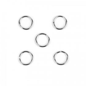 Titanium Plated 10mm Jump Ring 1.5mm Thick Pk5