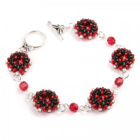 Scarlet and Black Gemma Bracelet Take a Make Break Kit - Makes x1