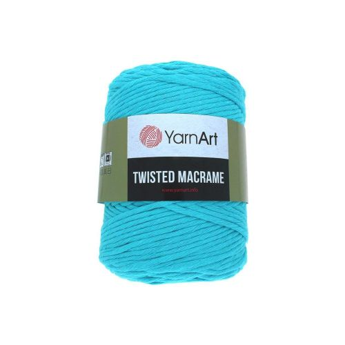 YarnArt ™ Macrame Twisted / cord / 60% cotton, 40% viscose and polyester / colour 763 / 500g / 210m