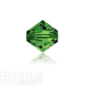 5328 Swarovski Crystal Bicones 4mm Dark Moss Green Pk1440