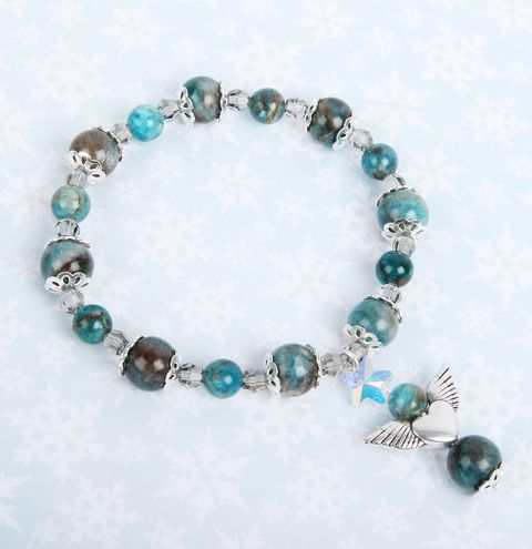 Shaded Spruce Angel Bracelet